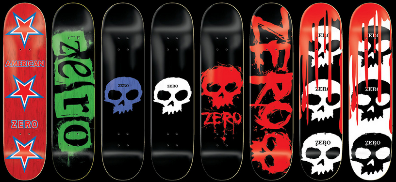 Zero Skateboards Radness Radness